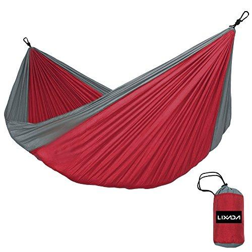 Hamaca Portátil para 2 Personas para Camping Jardín y Playa