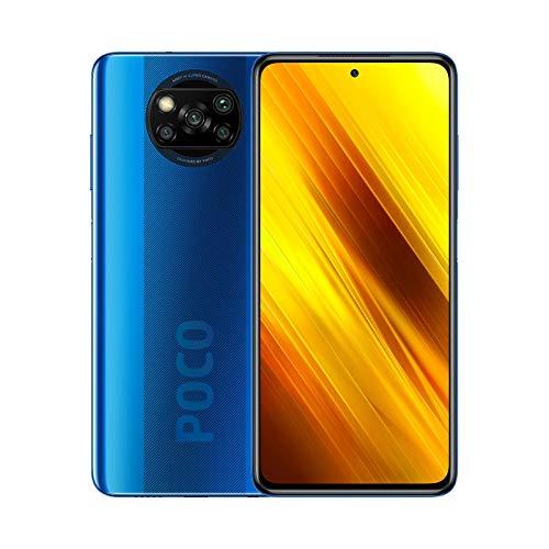 """Poco X3 NFC (Pantalla de 6,67"""" FHD+, DotDisplay, 6GB+64GB, Cámara cuádruple de 64MP, Snapdragon 732G, 5160mAh con Carga de 33W"""