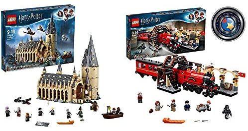 LEGO 75954 Harry Potter Gran Comedor de Hogwarts - Juguete de Construcción, con Minifiguras de Harry Potter + Harry Potter - Hogwarts