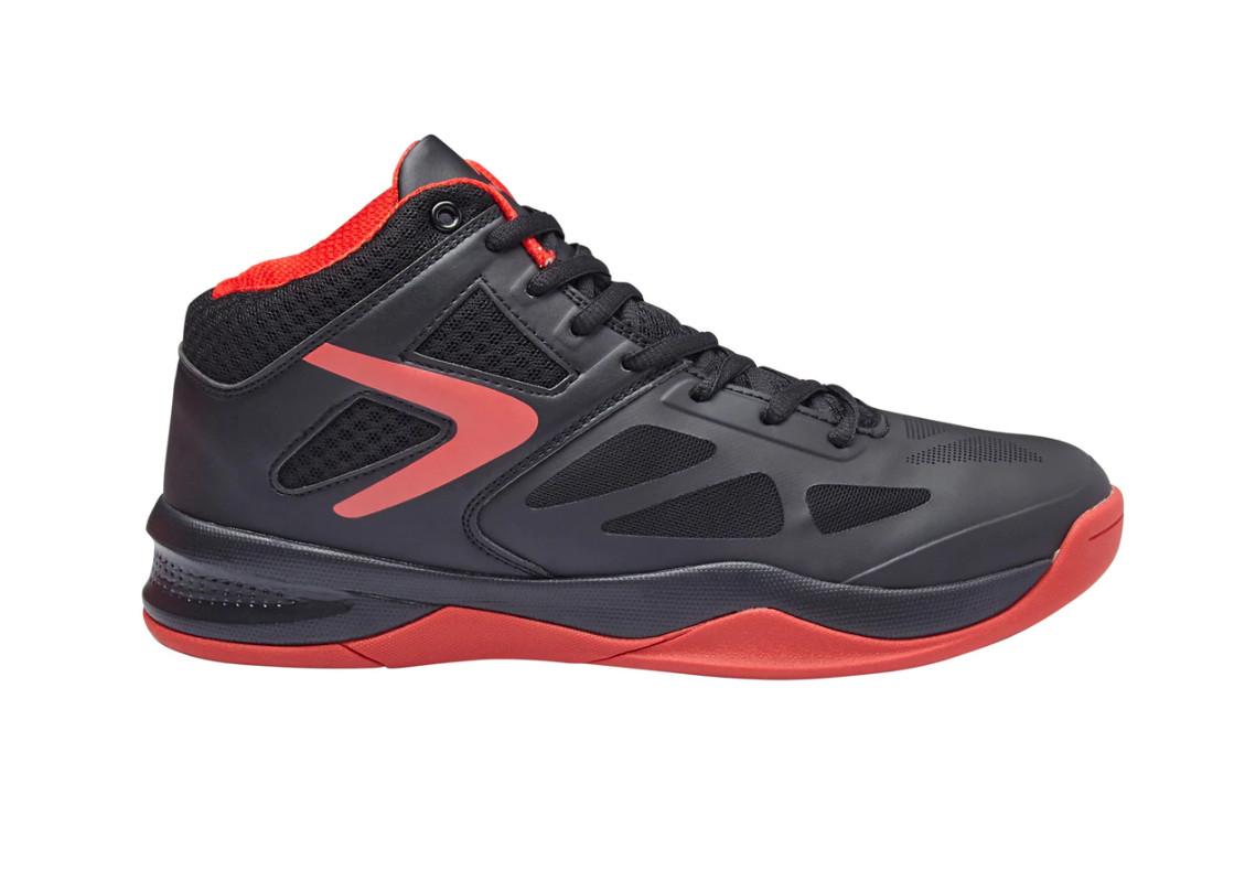 Zapatillas Basket Boomerang para hombre negras o rojas - Tallas de la 40 a la 46