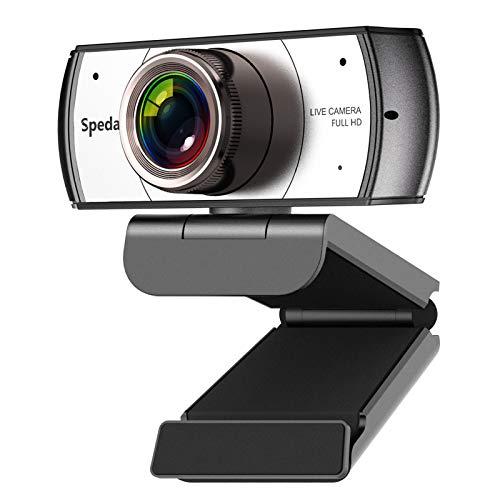 Webcam 120° Gran Angular Full HD 1080P