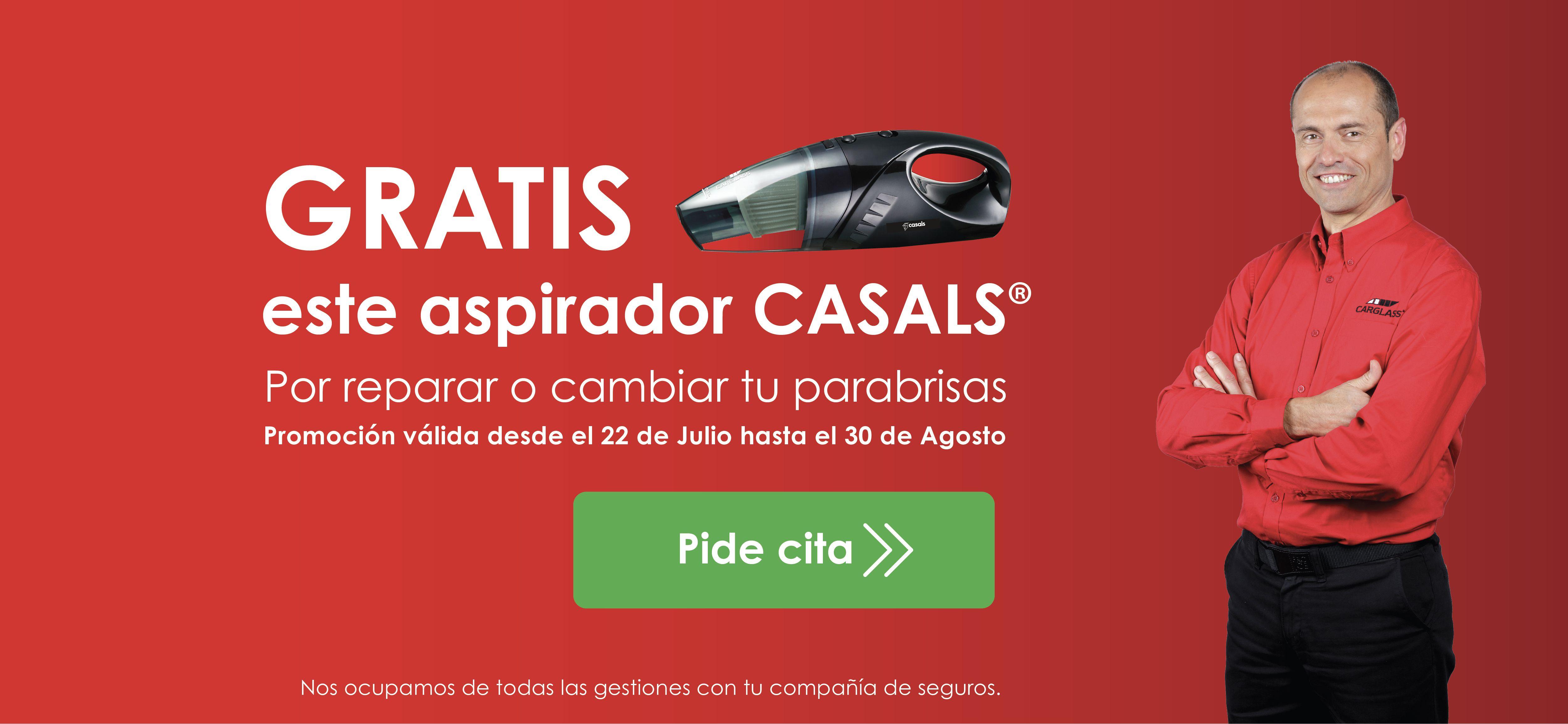 Aspirador para coche gratuito al reparar tu parabrisas (Minicomic en la descripción)