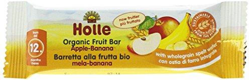 Holle Barritas Manzana & Plátano, 20 unidades (segun descripcion)