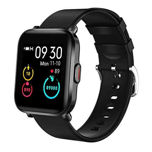 KUNGIX Smartwatch, Reloj Inteligente Mujer Hombre niños