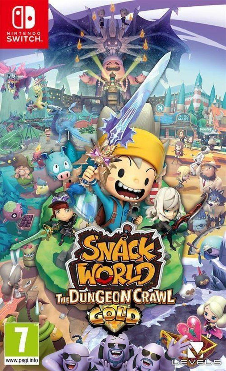 Snack World Gold (Switch)
