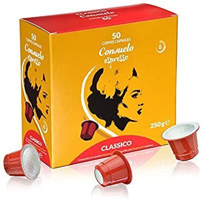 Consuelo - cápsulas de café compatibles con Nespresso* - Classico, 50 cápsulas