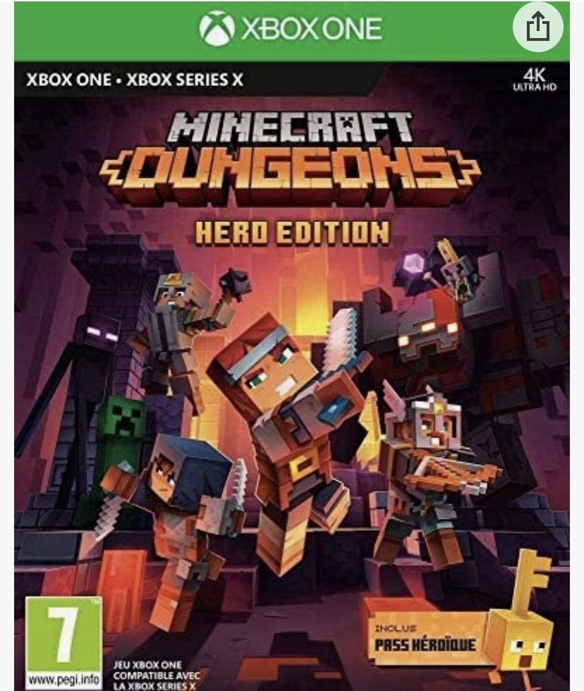 Minecraft Dungeons: Hero Edition XBOX ONE