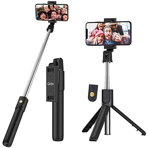 Selfie Stick Móvil Bluetooth con Inalámbrico Control Remoto