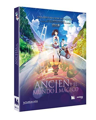 Anime - Ancien y el mundo mágico [Blu-ray + Libro + bocetos + Postales]