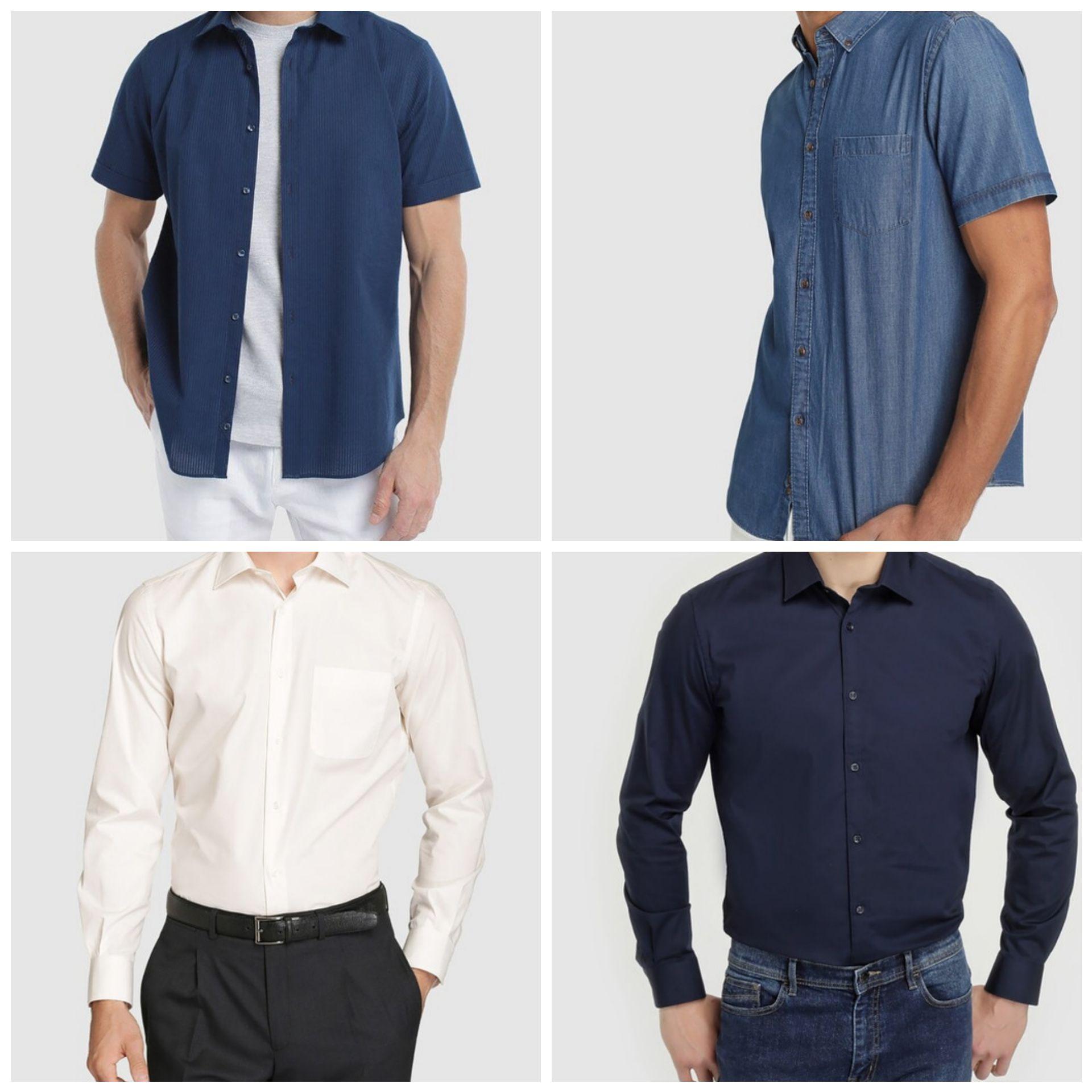 Camisas Dustin para Hombre por 5€ y 7€