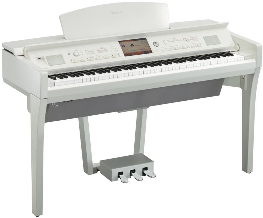 Piano digital Yamaha Clavinova CVP-709PWH de 88 teclas