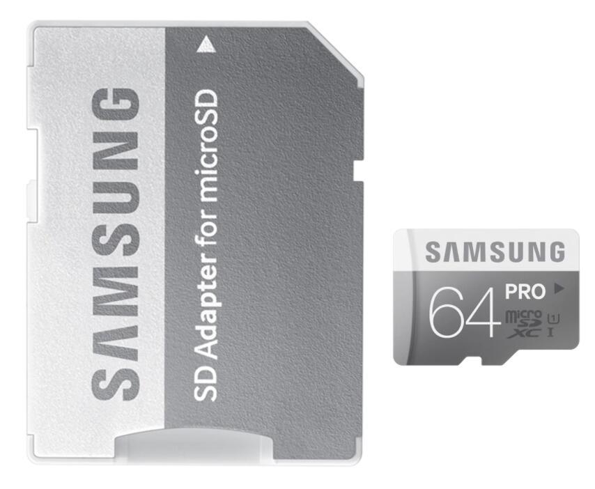 Tarjeta de memoria MicroSD Samsung PRO 64 GB