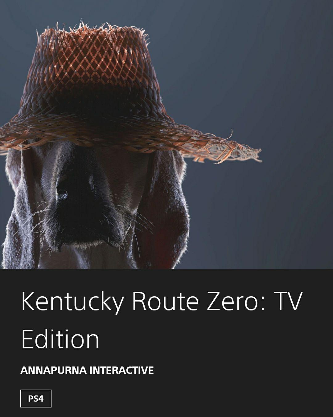 Kentucky Route Zero: TV Edition PS4