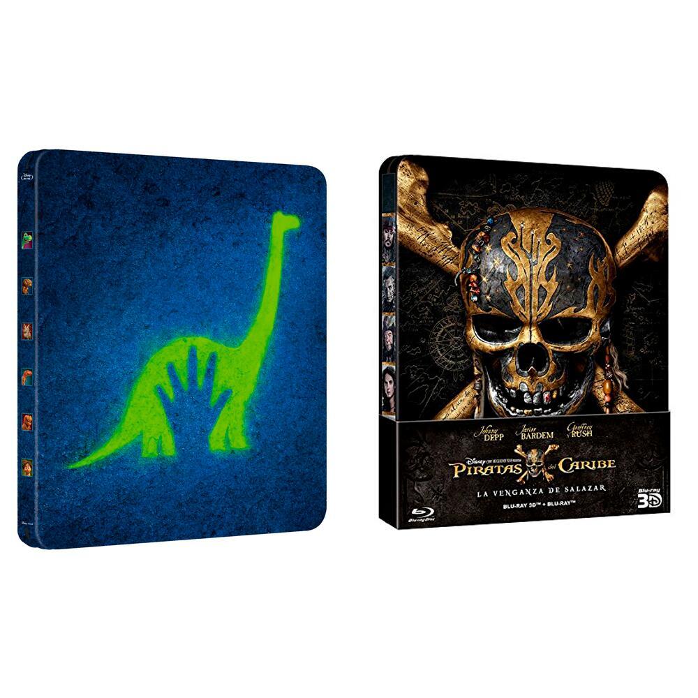 Steelbooks Blu-ray Disney 2x17€