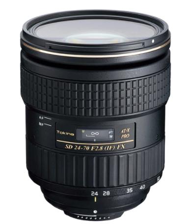 objetivo Tokina 24 70 2,8 para Canon