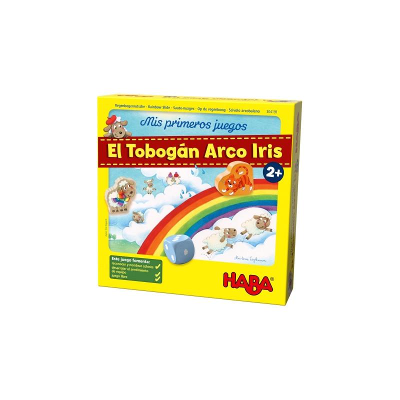 EL tobogán Arco Iris juego de mesa
