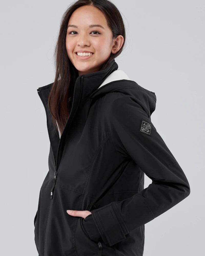 Hollister chaqueta con forro de polar