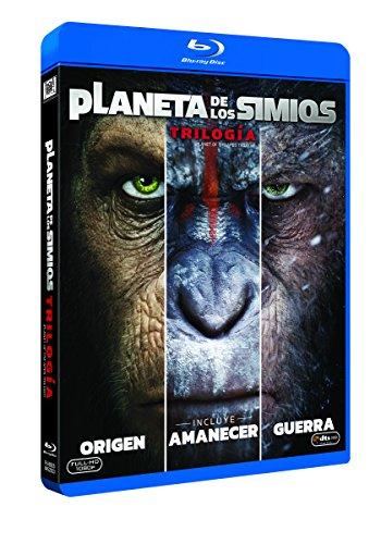 Trilogía Planeta De Los Simios Blu-Ray [Blu-ray] Amazon
