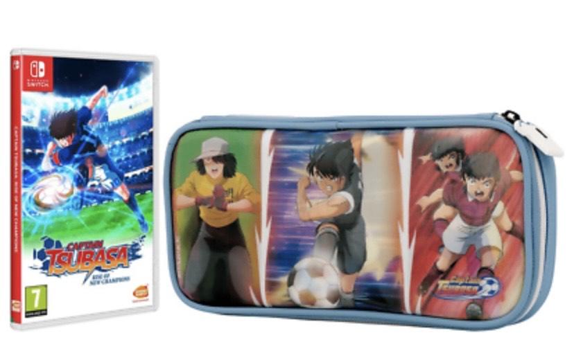 Nintendo Switch Captain Tsubasa: Rise Of New Champions ( Especial Juego + Funda)