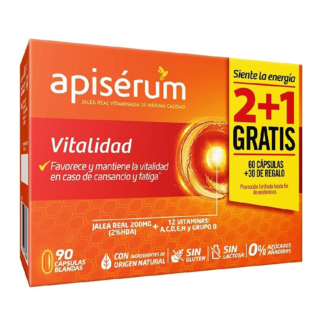 Apisérum Pack Vitalidad Cápsulas - 3 meses