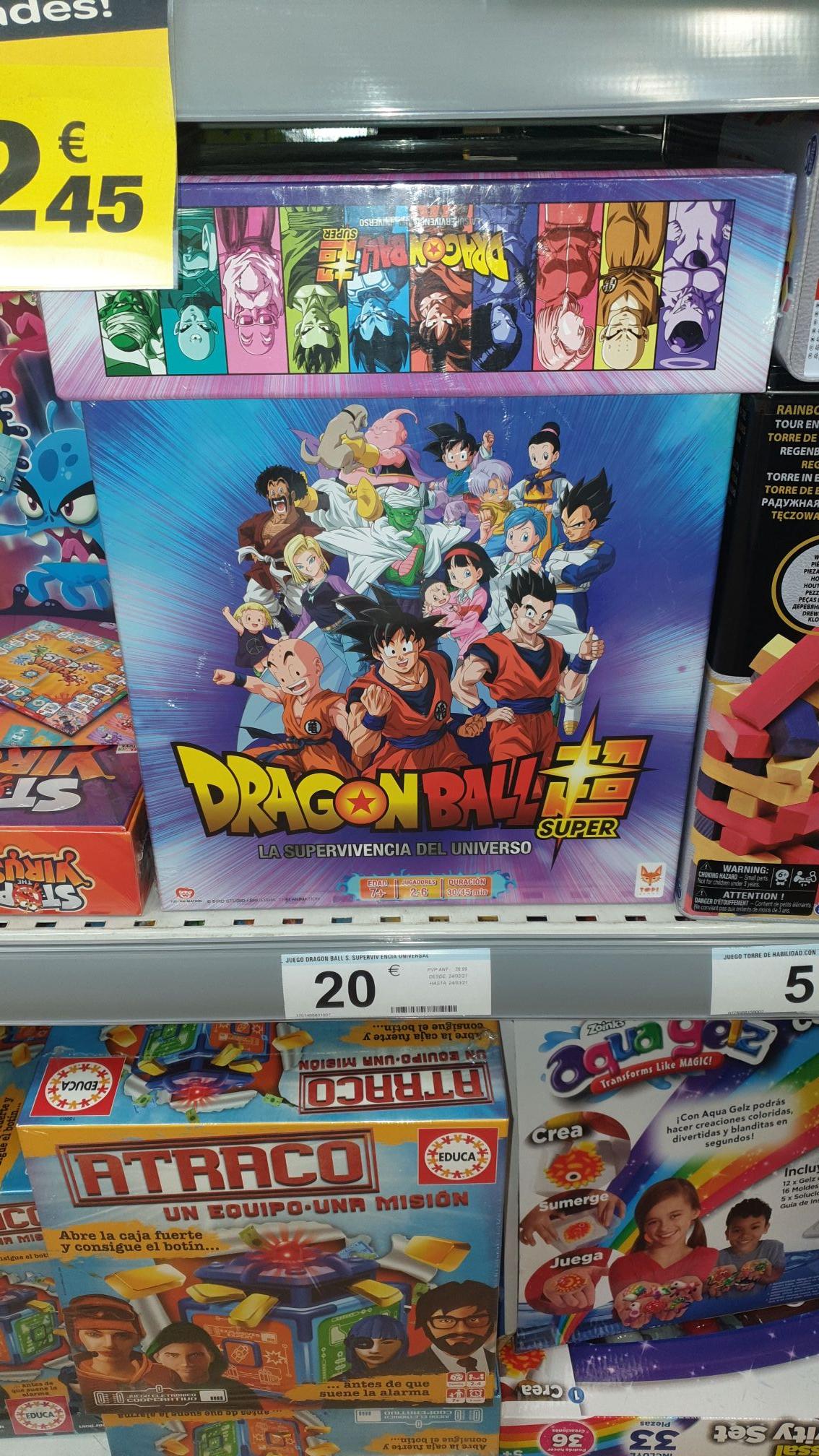 Dragon Ball Super - La Supervivencia del Universo en Carrefour Villarreal
