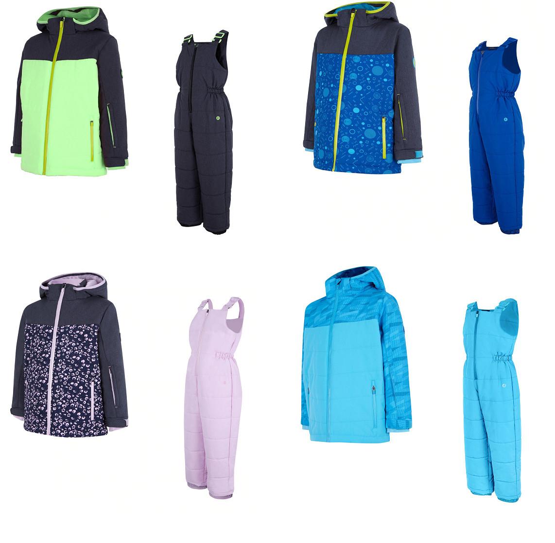 Conjunto de Esquí/Nieve Infantil (Chaqueta + Pantalón Peto) Impermeable, transpirable.
