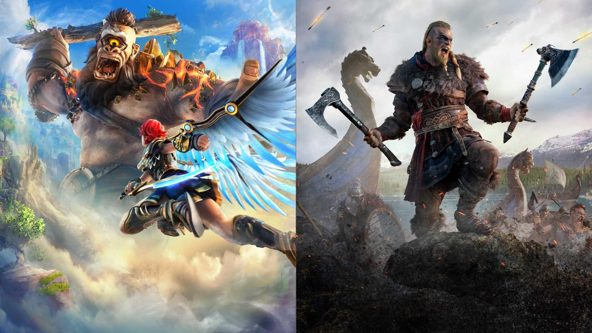 Assassin's Creed® Valhalla + Immortals Fenyx Rising™ Bundle XBOX ONE