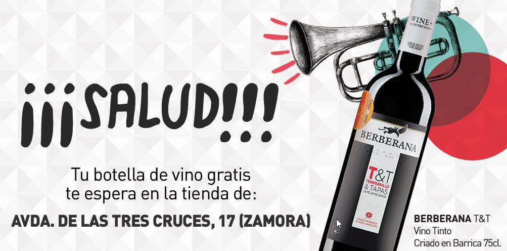 regalo vino Primaprix Zamora, Sevilla, Valencia y Leon