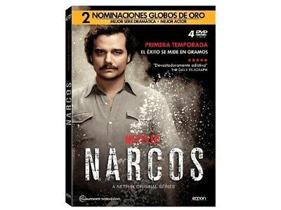 DVD Narcos - Temporada 1 - Mediamarkt eBay