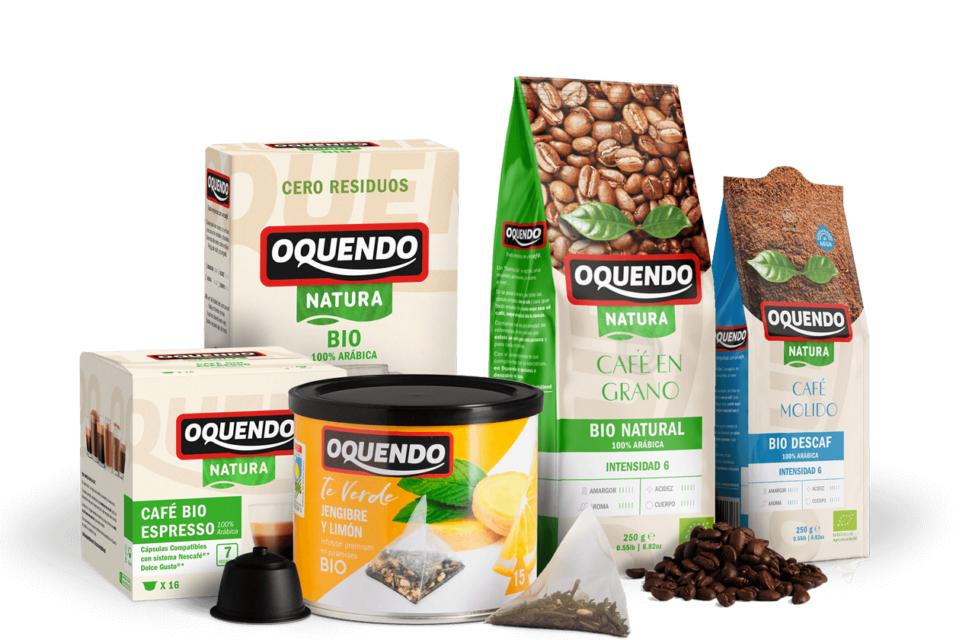 Productos BIO de Cafes Oquendo 25% de Descuento
