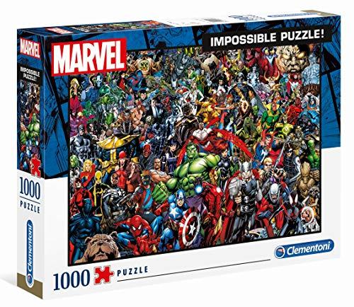 Puzzle 1000 Piezas Marvel 80 Years, Multicolor