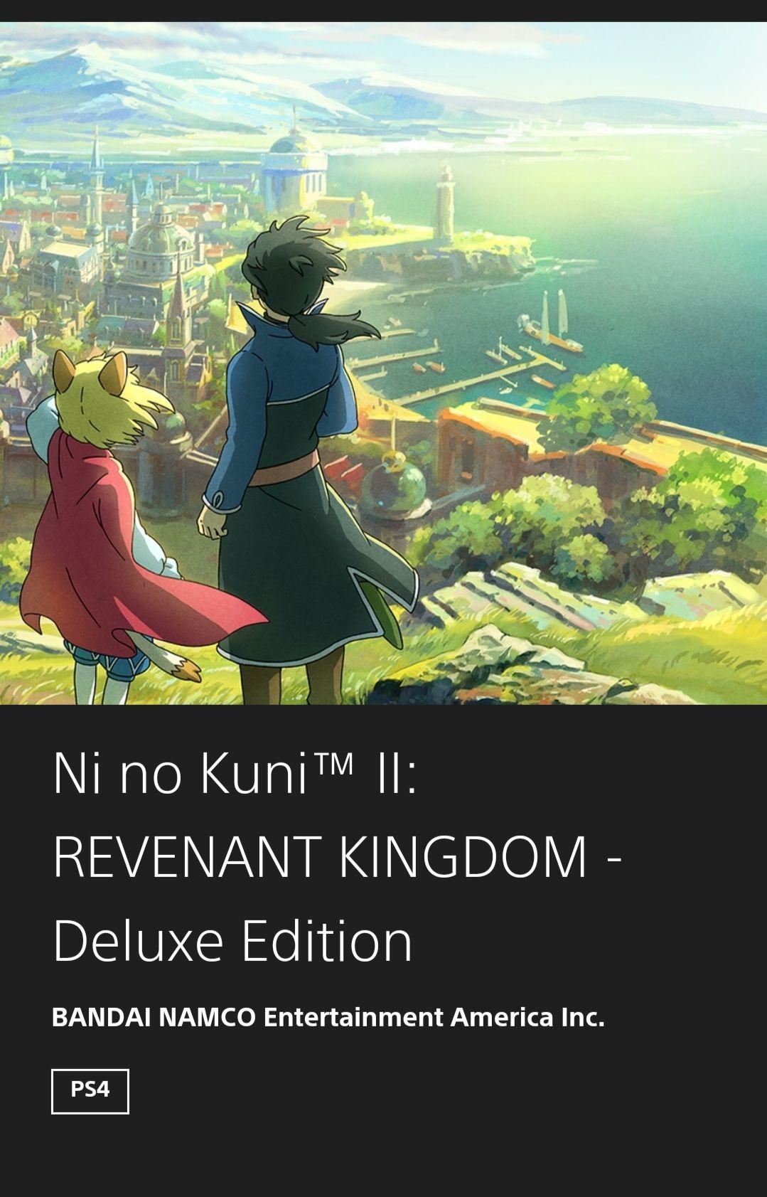 Ni No Kuni II Deluxe Store de Brasil