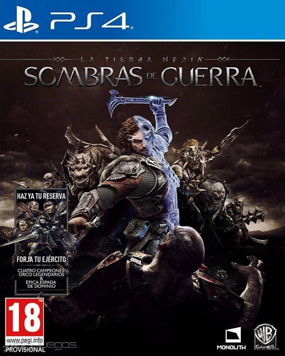 La Tierra Media: Sombras De Guerra PS4 FÍSICO