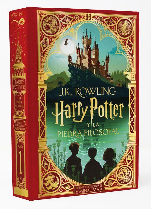 Libro Harry Potter edición Minalima
