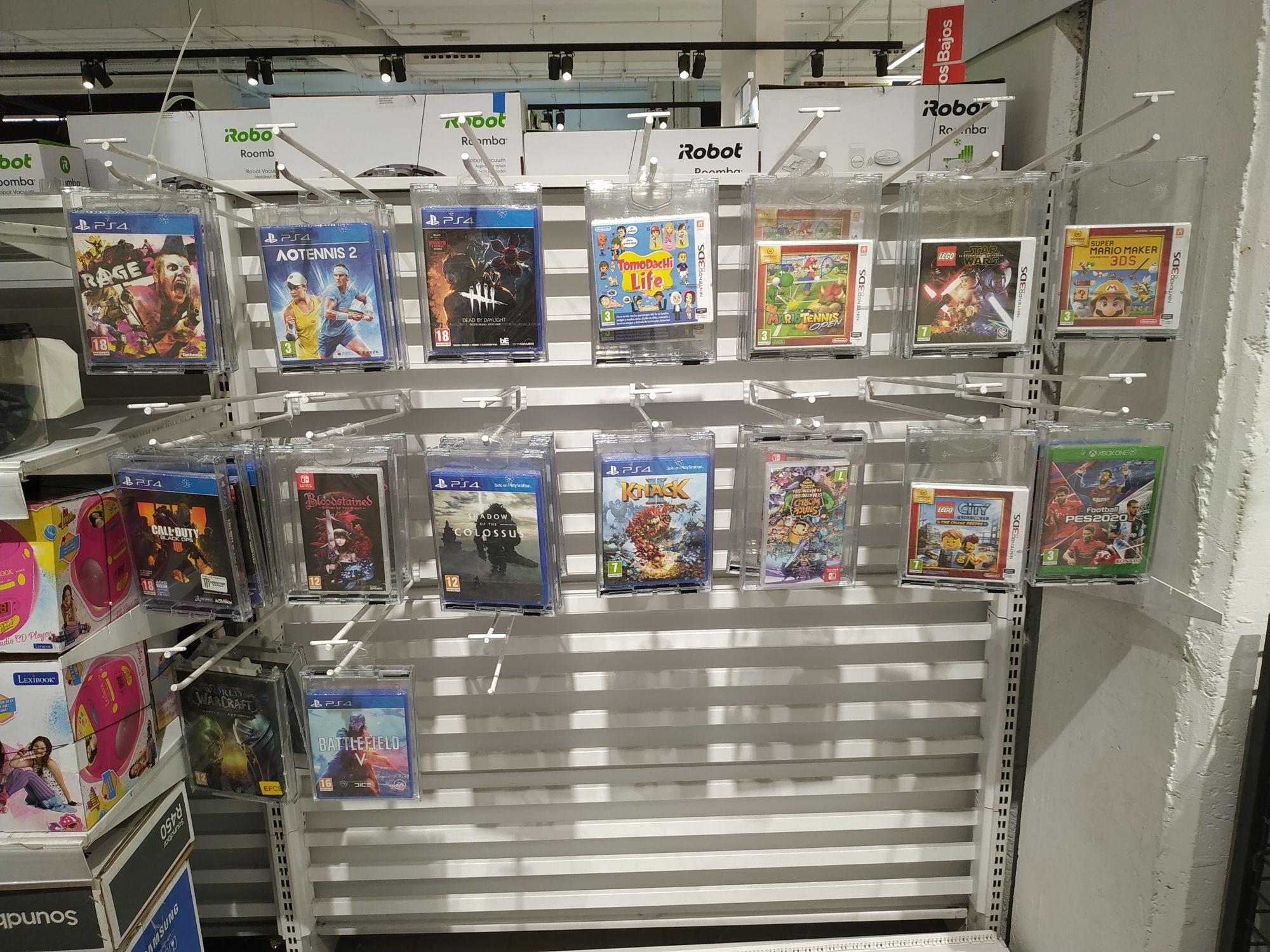 Liquidación juegos PS4/Xbox One/Switch