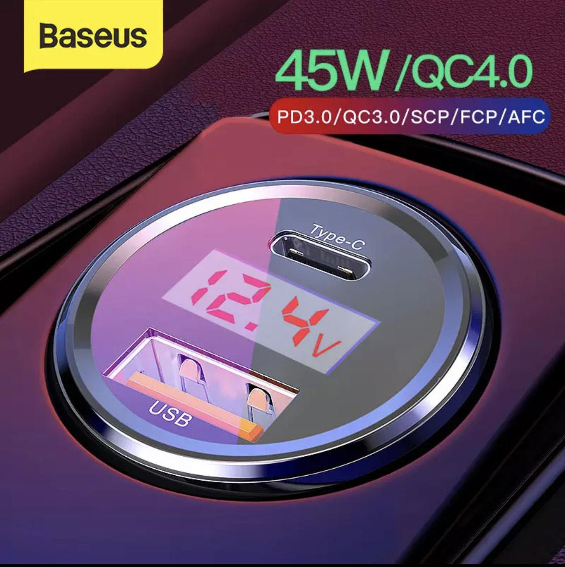 Cargador de coche Baseus