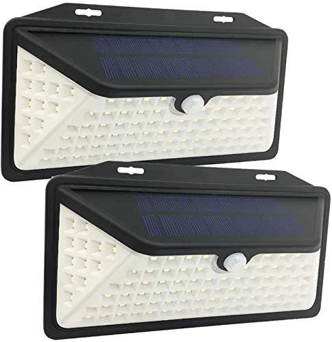 Pack de 2,Luz Solar Exterior 3 Modos,Impermeable IP65