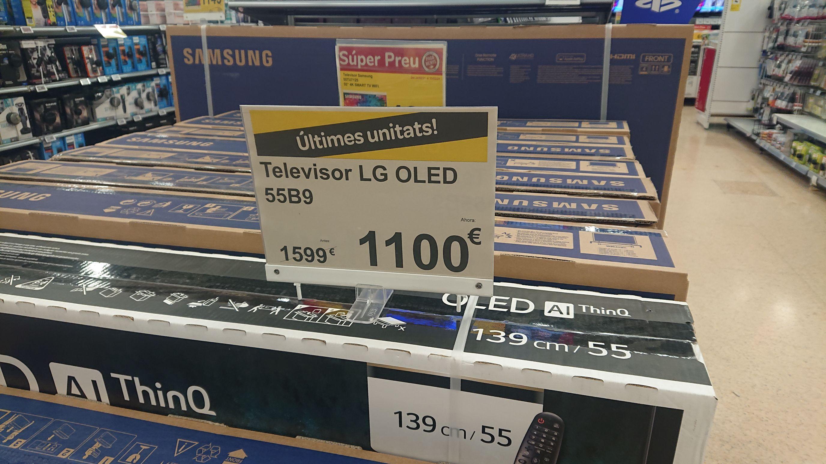 LG OLED 55B9 en Carrefour Vic