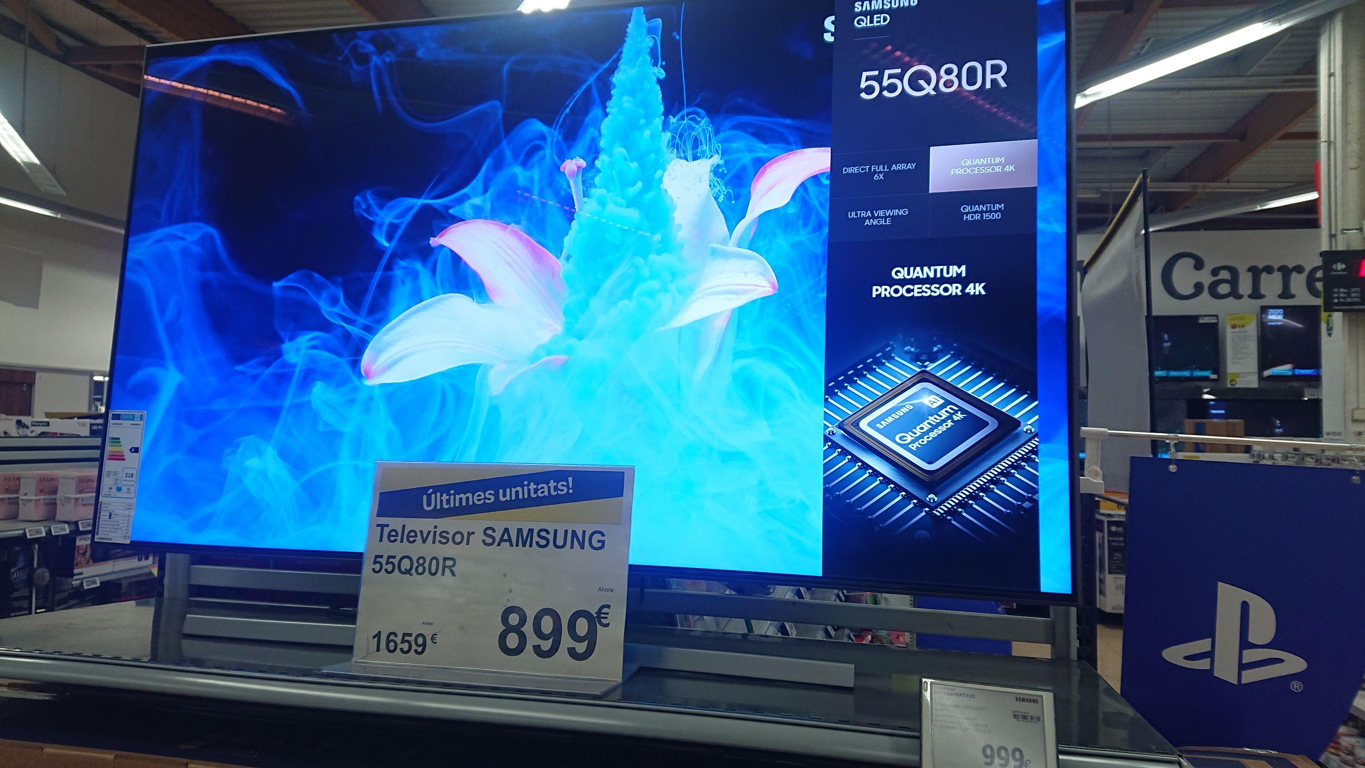 TV Samsung Qled 55Q80R en Carrefour Vic