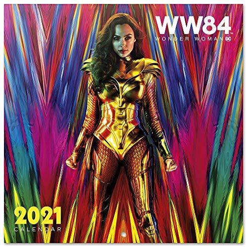 Calendario de pared 2021 Wonder Woman, DC Comics