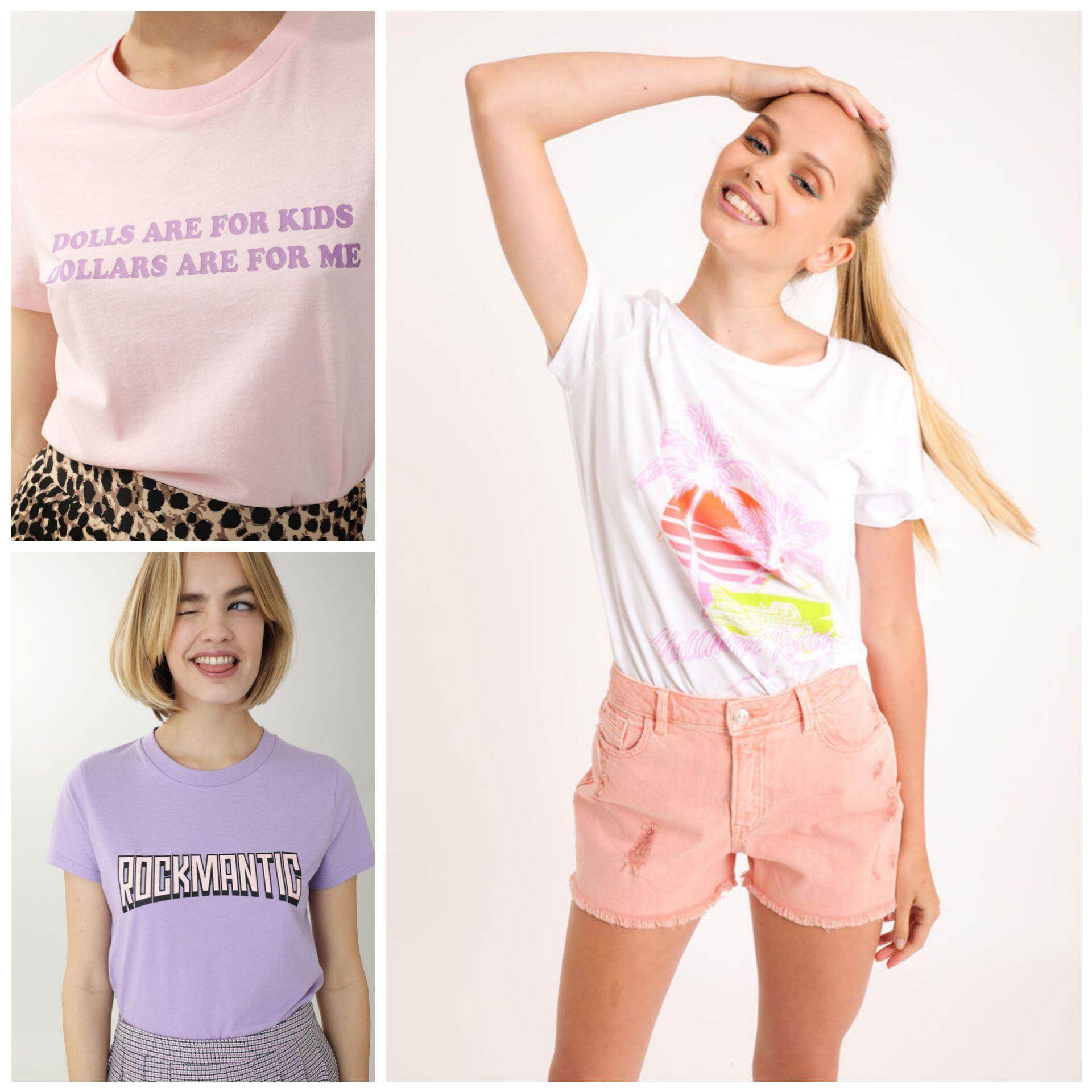 Camisetas Básicas para Mujer por 3€