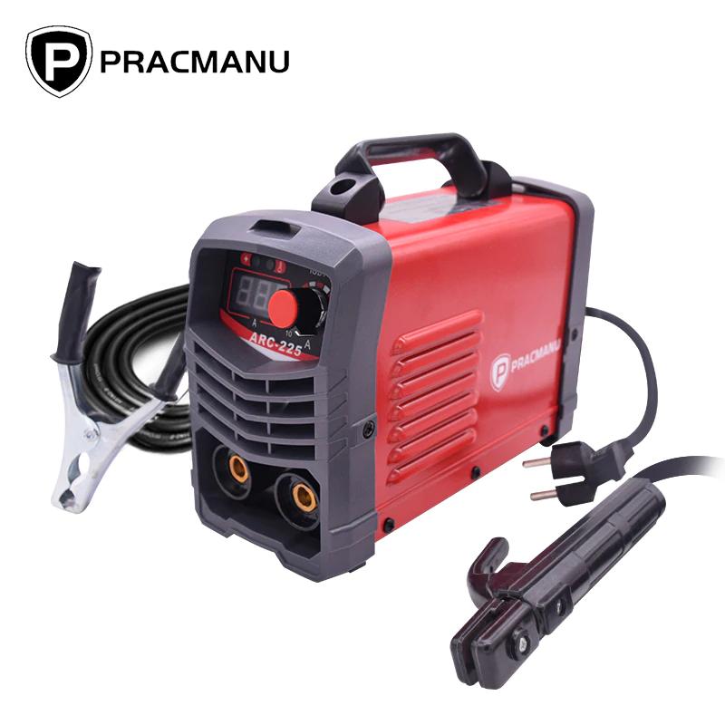 PRACMANU soldador Inverter de arco eléctrico, máquina de soldadura de 220V
