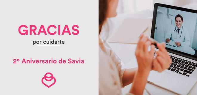 20€ descuento en Savia Premium anual (servicio online de salud) + Test genético de regalo