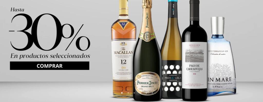-30% DTO en MESA 16 - Vinos, espumosos y destilados