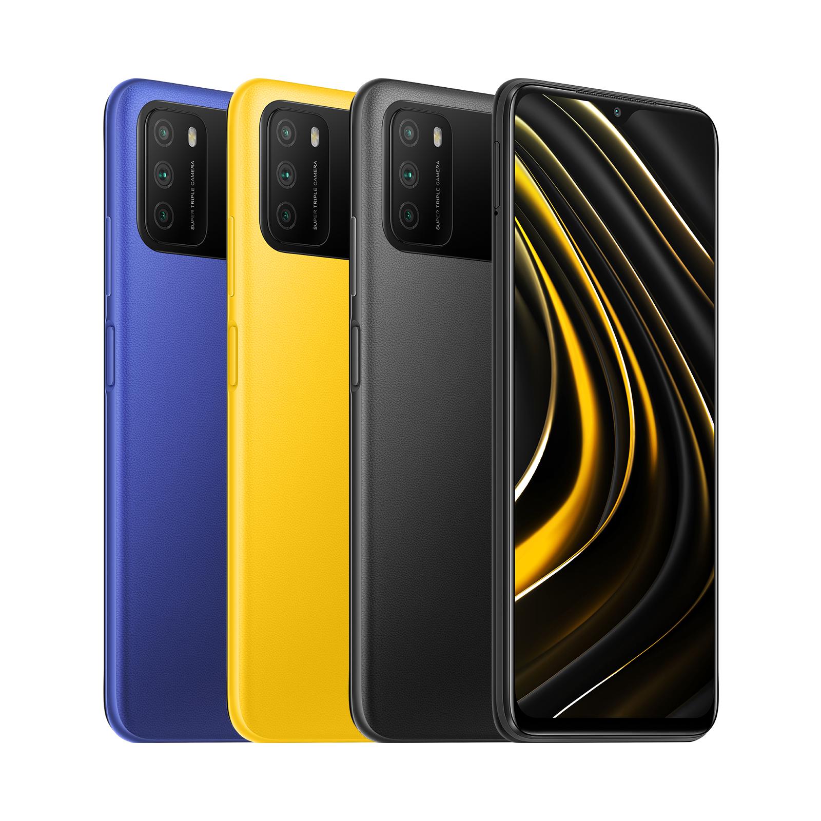 POCO M3 64GB y POCO M3 128GB (varios colores)