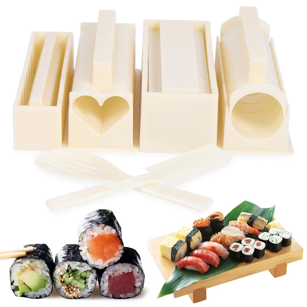 Utensilios para hacer Sushi con forma cuadrada