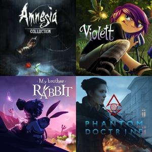 Amnesia: Collection, My Brother Rabbit, Phantom Doctrine y Violett