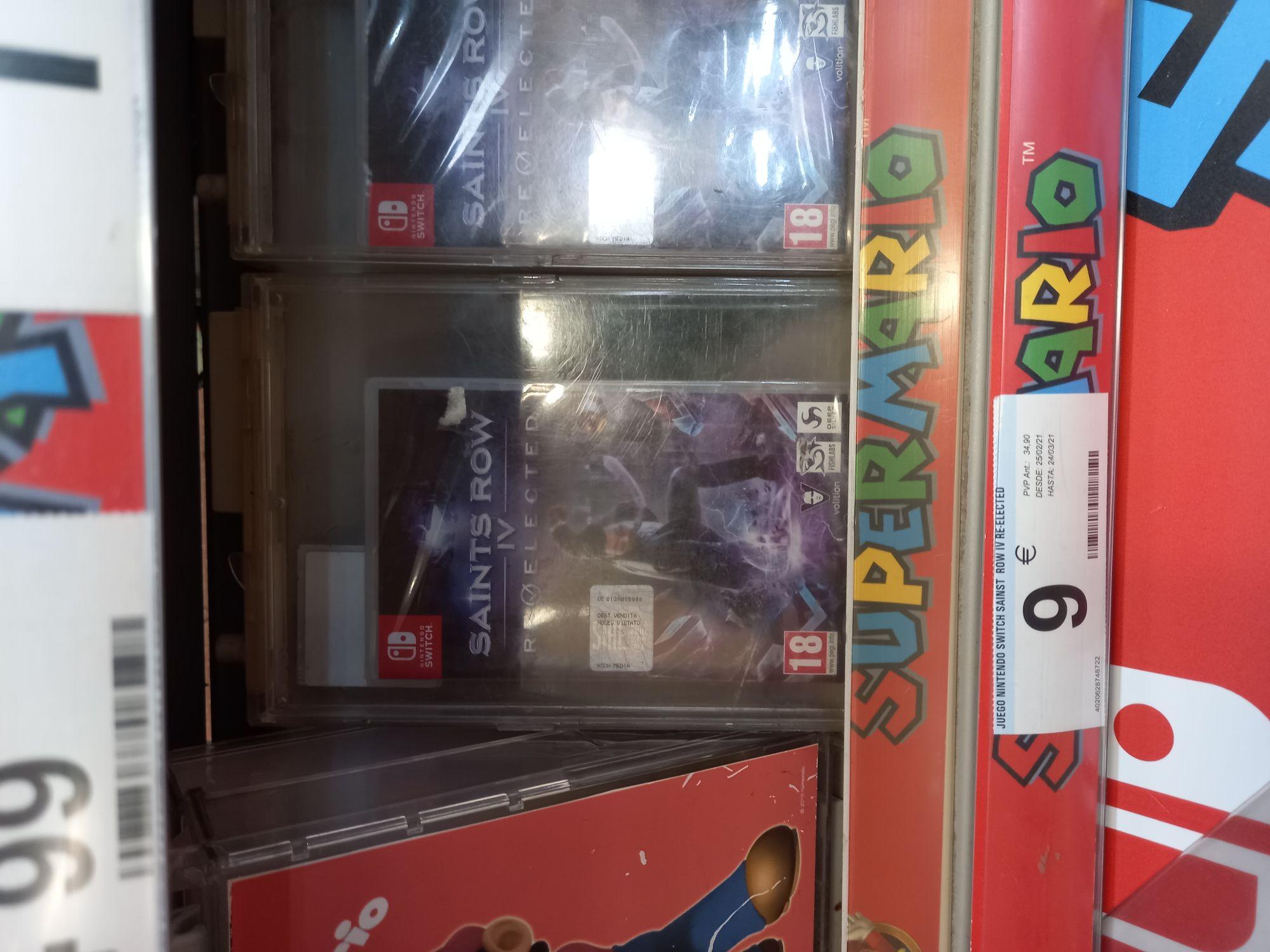 Saints Row IV Nintendo Switch en Castellón