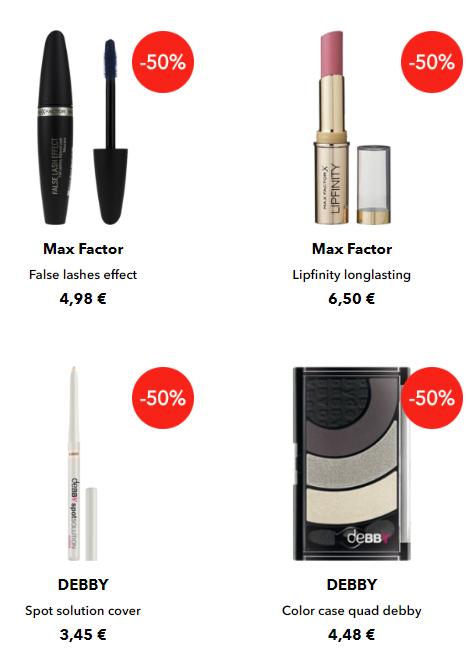 Maquillaje outlet Douglas 50%