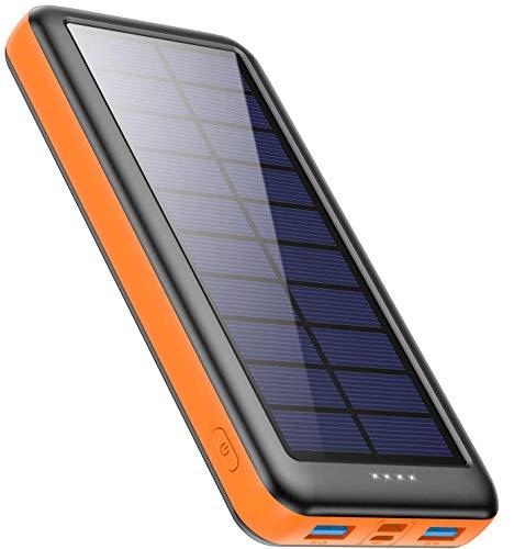 PowerBank con placa Solar 26800mah